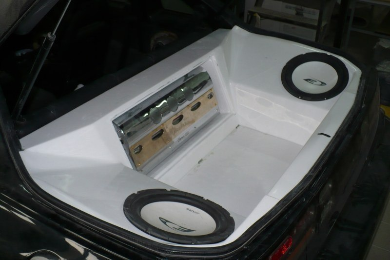 Bass Box Nissan 300ZX 2+2 Seater - GRUBYGARAGE - Sklep Tuningowy